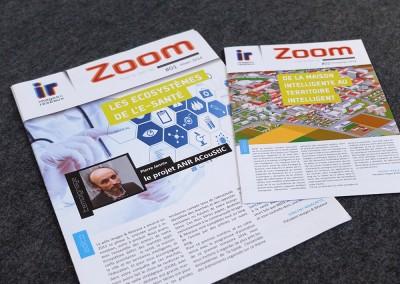 I&R zoom - création et maquette