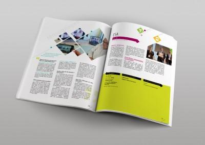 Pages intérieures du livre des projets