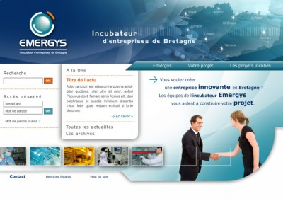 Emergys-Home page